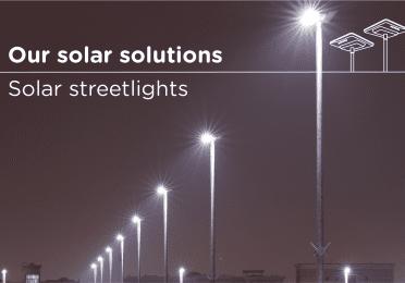 Visuel brochure lampadaires solaires